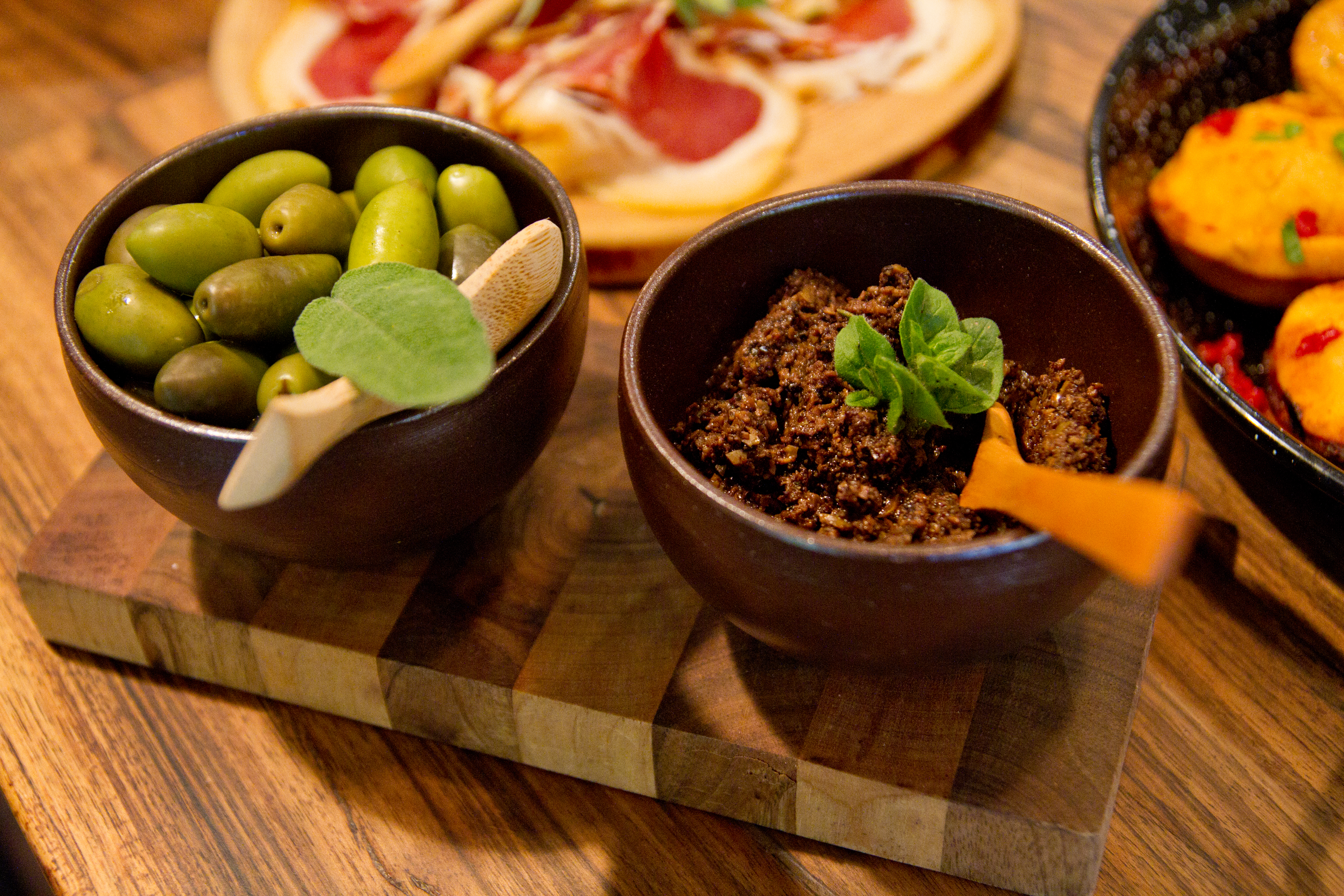 tapenade and olives