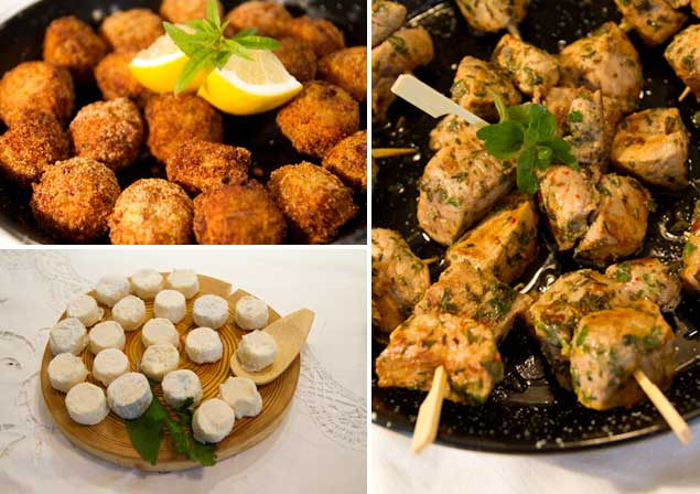 Private Catering collage
